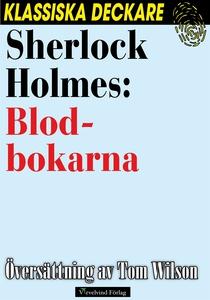 Sherlock Holmes: Blodbokarna (e-bok) av Arthur