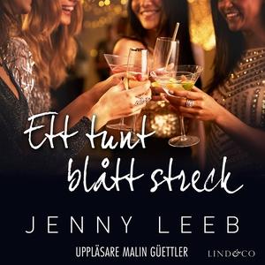 Ett tunt blått streck (ljudbok) av Jenny Leeb