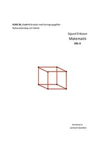 Sigurd Eriksson Matematik DEL II (e-bok) av Sig