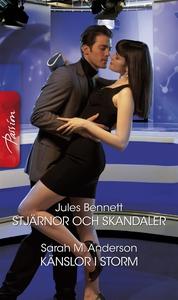 Stjärnor och skandaler/Känslor i storm (e-bok)