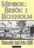 Minibok: Ett besök i Boxholm år 1885