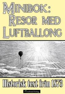 Resor med luftballong år 1873 (e-bok) av