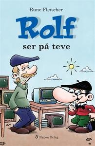 Rolf ser på teve (e-bok) av Rune Fleischer
