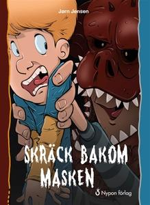 Skräck bakom masken (e-bok) av Jørn Jensen
