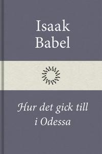 Hur det gick till i Odessa (e-bok) av Isaak Bab