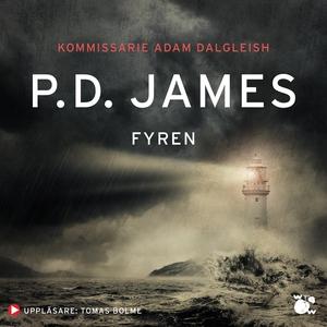 Fyren (ljudbok) av P.D. James, P. D. James, P D