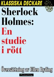 Sherlock Holmes: En studie i rött (e-bok) av Ar