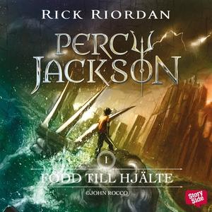Född till hjälte (ljudbok) av Rick Riordan