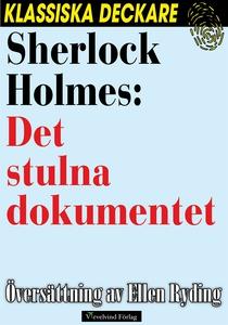 Sherlock Holmes: Det stulna dokumentet (e-bok)