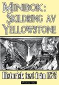Skildring av Yellowstone 1875