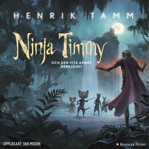 Ninja Timmy och den vita apans hemlighet (ljudb