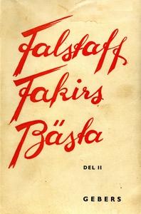Falstaff Fakirs Bästa: DEL II (e-bok) av Axel W