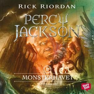 Monsterhavet (ljudbok) av Rick Riordan