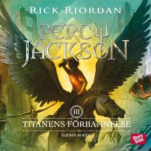 Titanens förbannelse (ljudbok) av Rick Riordan