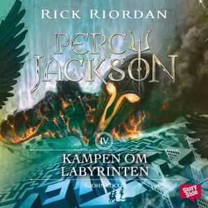 Kampen om Labyrinten (ljudbok) av Rick Riordan
