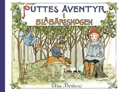 Puttes äventyr i blåbärsskogen : Ritade och ber