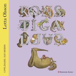 Konstiga djur (ljudbok) av Lotta Olsson