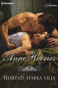 Hjärtats starka vilja (e-bok) av Anne Herries