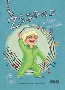 Zippen målar musik (e-bok) av Linda Palm