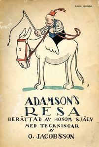 ADAMSON'S RESA: Berättad av honom själv med tec