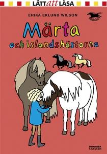 Märta och islandshästarna (e-bok) av Erika Eklu