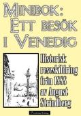 Ett besök i Venedig år 1888 – Minibok med reseskildring
