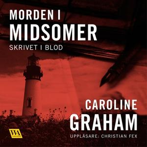 Skrivet i blod (ljudbok) av Caroline Graham