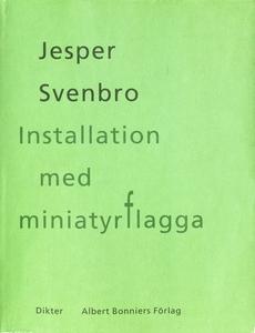 Installation med miniatyrflagga : Dikter (e-bok