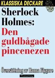 Sherlock Holmes: Den guldbågade pincenezen (e-b