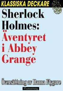 Sherlock Holmes: Äventyret i Abbey Grange (e-bo