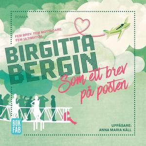 Som ett brev på posten (ljudbok) av Birgitta Be