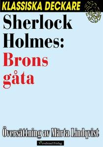 Sherlock Holmes: Brons gåta (e-bok) av Arthur C