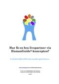 Hur få en bra livspartner via HumanGuide®-koncepten?
