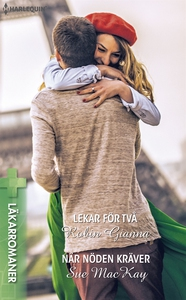 Lekar för två/När nöden kräver (e-bok) av Sue M