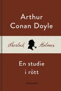 En studie i rött (En Sherlock Holmes-roman) (e-