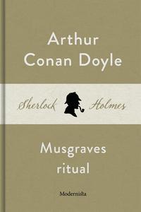 Musgraves ritual (En Sherlock Holmes-novell) (e