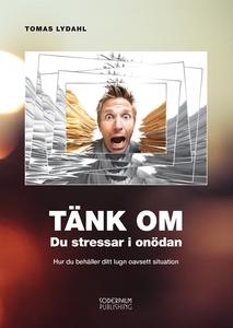 TÄNK OM - Du stressar i onödan (ljudbok) av Tom