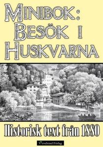 Minibok: Skildring av Huskvarna år 1880 (e-bok)
