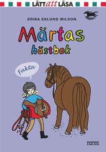 Märtas hästbok (e-bok) av Erika Eklund Wilson,