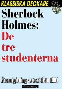 Sherlock Holmes: De tre studenterna (e-bok) av