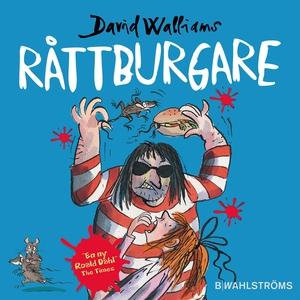 Råttburgare (ljudbok) av David Walliams