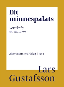 Ett minnespalats : Vertikala memoarer (e-bok) a