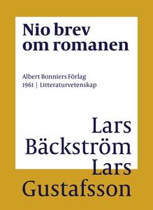 Nio brev om romanen (e-bok) av Lars Gustafsson,