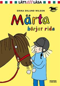 Märta börjar rida (e-bok) av Erika Eklund Wilso