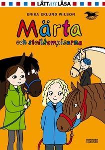 Märta och stallkompisarna (e-bok) av Erika Eklu