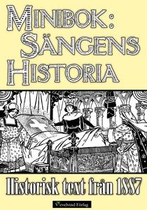 Sängens historia – Minibok med text från 1887 (