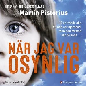 När jag var osynlig (ljudbok) av Martin Pistori