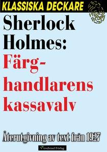 Sherlock Holmes: Färghandlarens kassavalv (e-bo