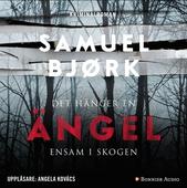 Det hänger en ängel ensam i skogen