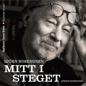 Mitt i steget (ljudbok) av Johan Hakelius, Björ